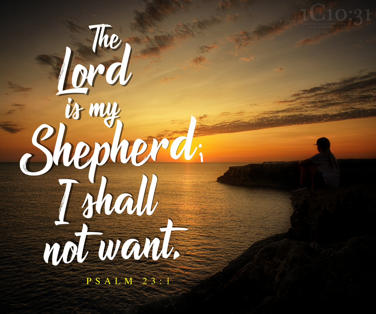 The Lord the Shepherd of His People
