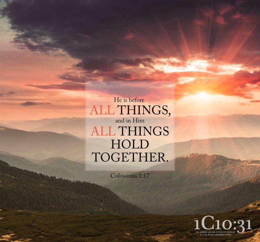 Colossians 1:17