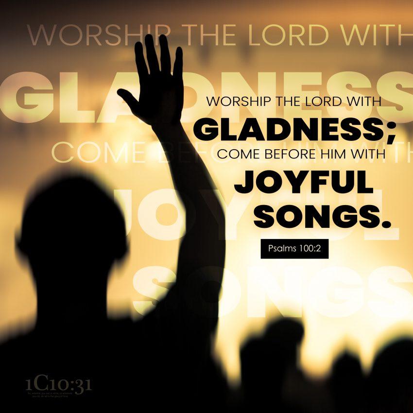 Psalms 100:2