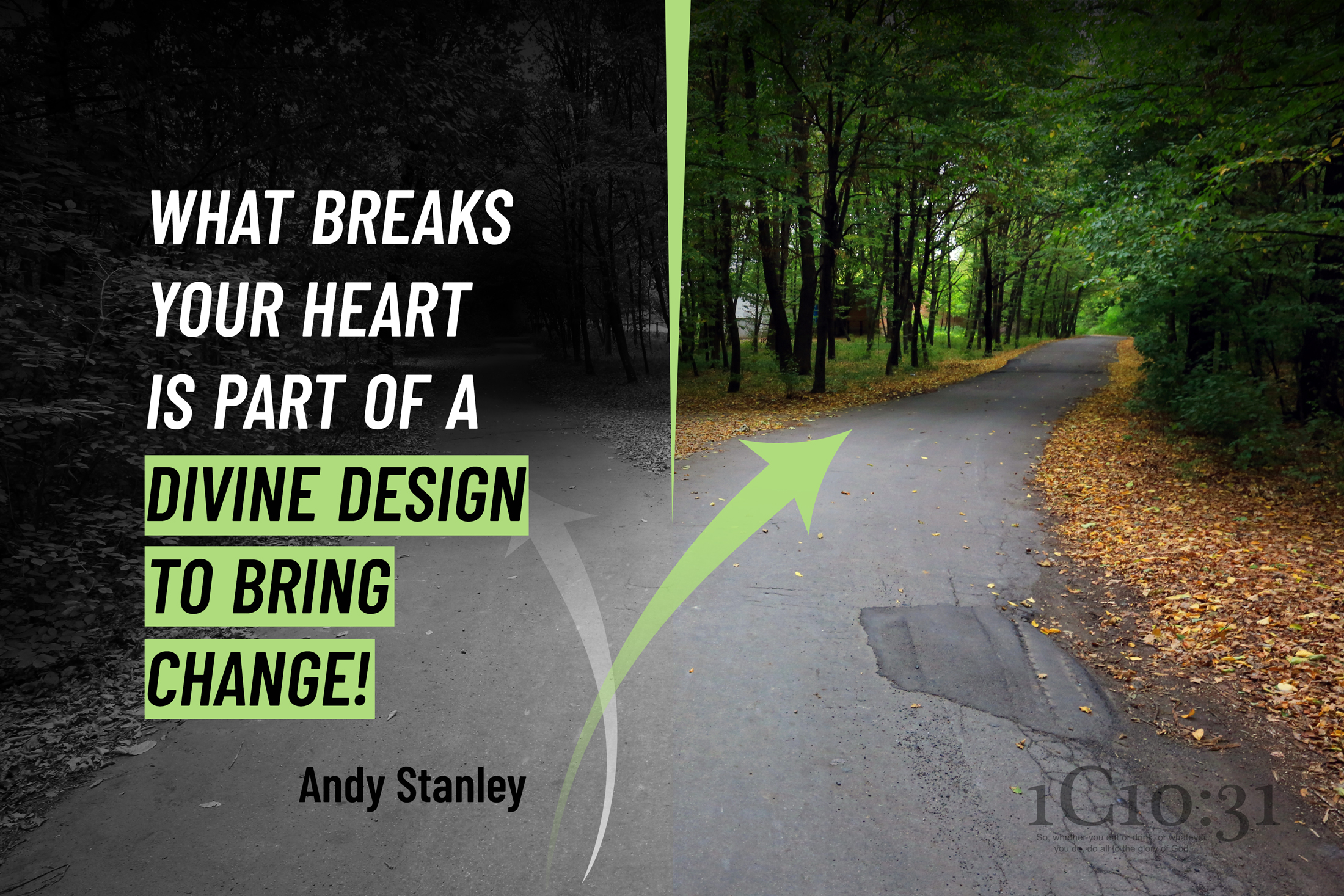 What breaks your heart is part of a divine design to bring change!